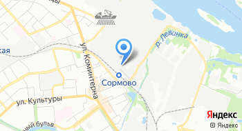 Судостроительный завод Волга на карте