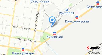 Автокомпоненты группы ГАЗ на карте