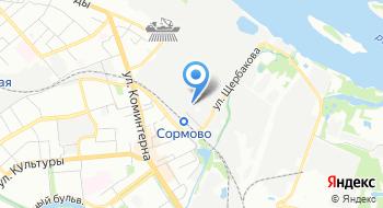 Сормовское межрайонное общество охотников и рыболовов на карте