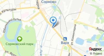Автоплощадка на карте