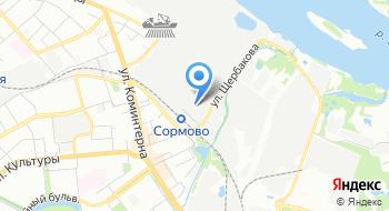 Управление ПФР в Сормовском районе Г. Н. Новгорода на карте