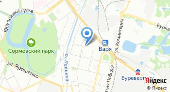 Центр детского творчества Московского района на карте