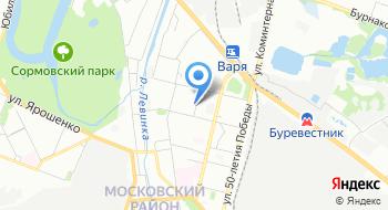 ЦАФАП ОДД ГИБДД ГУ МВД России по Нижегородской области на карте