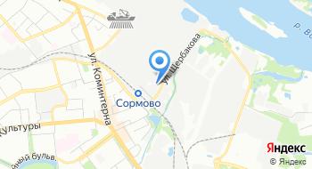 Гидроснаб-НН на карте