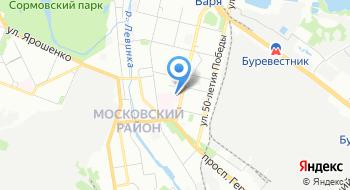 ГБУЗ Но ДГБ № 42 поликлиника на карте