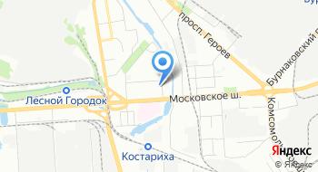 Военный комиссариат Московского района на карте