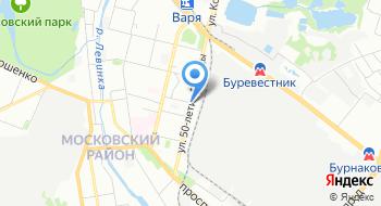 Поволжье-НН на карте