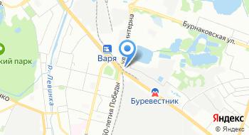 Госмонтаж на карте