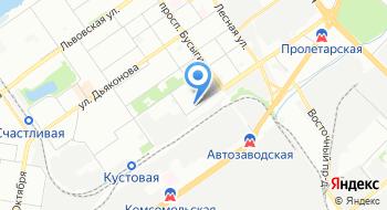 Центр автопокраски D-master на карте
