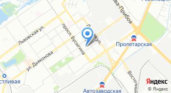 Трикотажная фабрика Меланж на карте