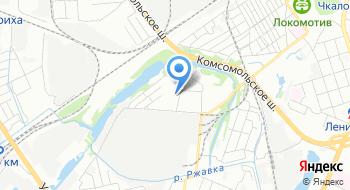 Пейнтбол клуб Блокпост52. РФ на карте