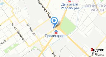 Фольксваген Экспресс на Пролетарской на карте
