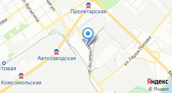 Электродепо Пролетарское на карте