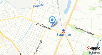 Заречный районный отдел занятости населения на карте