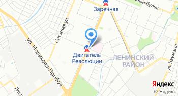 Отдел ЗАГС Автозаводского района г. Нижнего Новгорода на карте