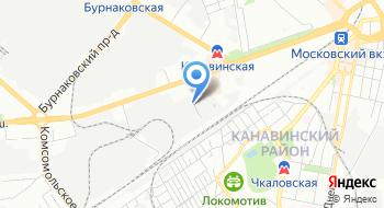 Нижегородский завод испытательного и технологического оборудования на карте