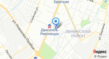 Скорая медицинская помощь Ленинского района на карте