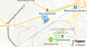 Авторизованный Сервисный центр Никсдорф, филиал в г. Нижнем Новгороде на карте