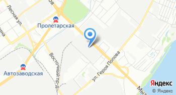 Нижегородская мебельная компания на карте