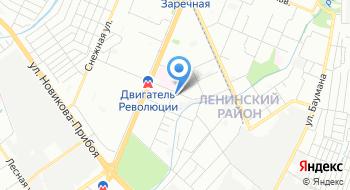 Уголовно-исполнительная инспекция Ленинского района на карте