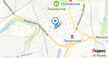 Городская клиническая больница №10 на карте