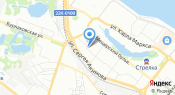 Товары для шитья и рукоделия Золотая иголка на карте