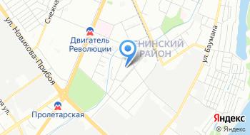 ФГУП Ростехинвентаризация-Федеральное БТИ Ленинское отделение на карте