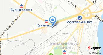 Нижегородская транспортная прокуратура на карте