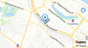 Шиномонтаж на Акимова на карте