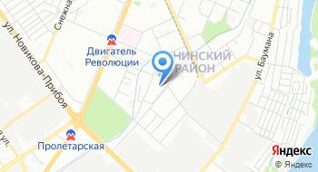 Нижегородский Заречный отдел Государственной жилищной инспекции Нижегородской области на карте