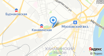 Волго-Вятская пригородная пассажирская компания на карте