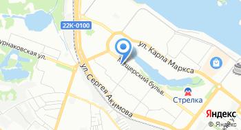 Вертолетный клуб Волжский на карте