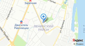 Нижегородский филиал Российский экономический университет им. Г.В. Плеханова на карте