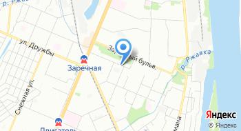 Областная стоматологическая поликлиника Ленинский филиал на карте