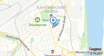 ГБУЗ НО Родильный дом №4 Ленинского района г. Нижний Новгород на карте