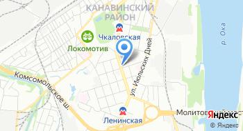 ГБУЗ НО Родильного дома №4 Женская консультация на карте