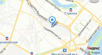 Автомастер на карте