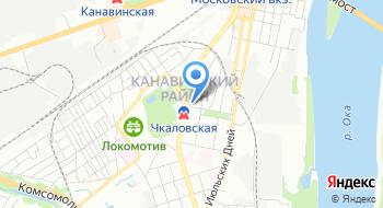 Интернет-магазин King-NN на карте