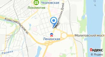 Управление Горьковской железной дороги филиал РЖД на карте
