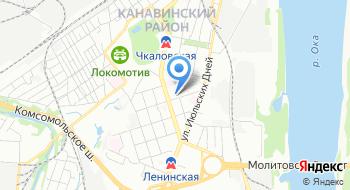 Подключить интернет Сумтел в Нижнем Новгороде на карте