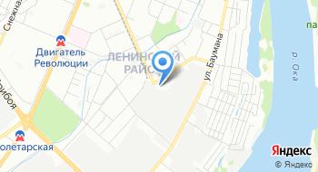 Нижегородский территориальный центр медицины катастроф на карте