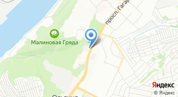 Лес Деревянный на карте