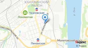 Психиатрическая больница № 2 г. Нижнего Новгорода на карте