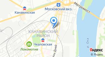 Приволжская транспортная прокуратура на карте