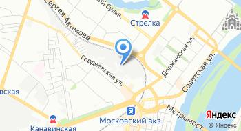 Баст-НН на карте