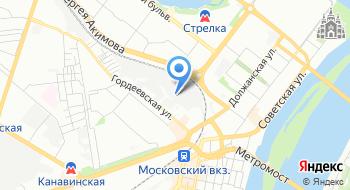 Веб-студия NNovgorod3D на карте