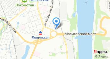 Московский Государственный Университет на карте