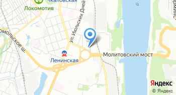 МИИТ, Нижегородский филиал на карте
