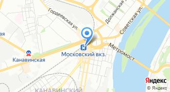 Комендатура военных сообщений железнодорожного участка станции и аэропорта города Нижний Новгород на карте