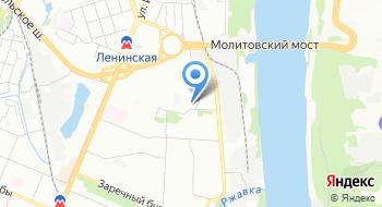 Центр реконструкции на карте